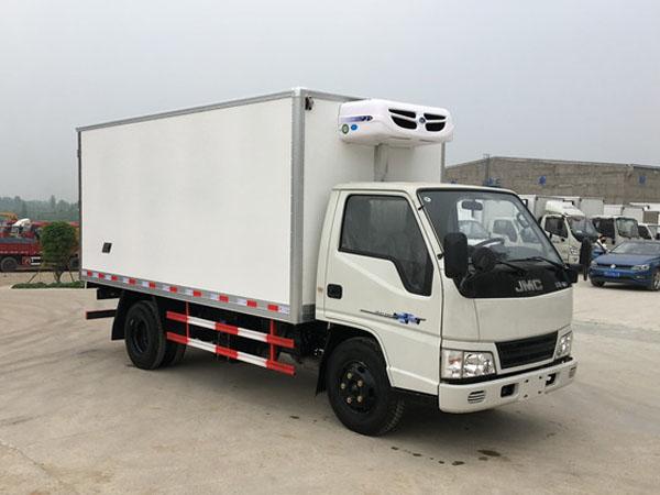 二手江铃新顺达4.2米冷藏车