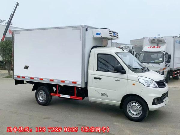 国6版福田祥菱v1冷藏车