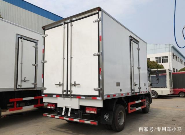 福田瑞沃ES3冷藏车厢体