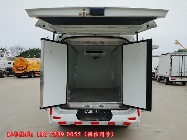 国六面包冷藏车,国6长安睿行M80冷藏车