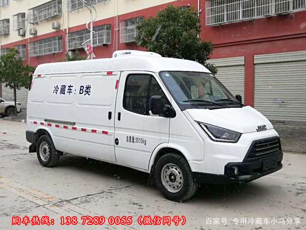 江铃特顺冷藏车,江铃特顺面包型冷藏车,江铃面包冷藏车